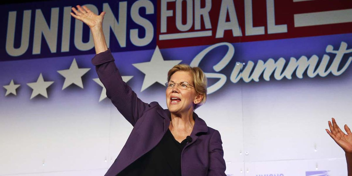 Warren's health plan: $20 trillion, no middle class tax hike