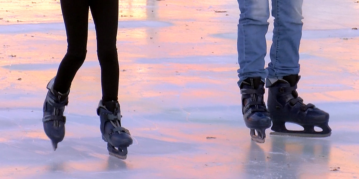Louisville ice skating shows off real ice in new location
