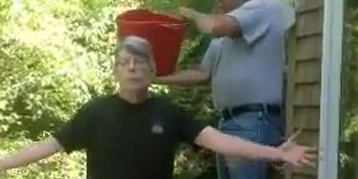 VIDEO: Stephen King responds to Dave Grohl's Ice Bucket callout