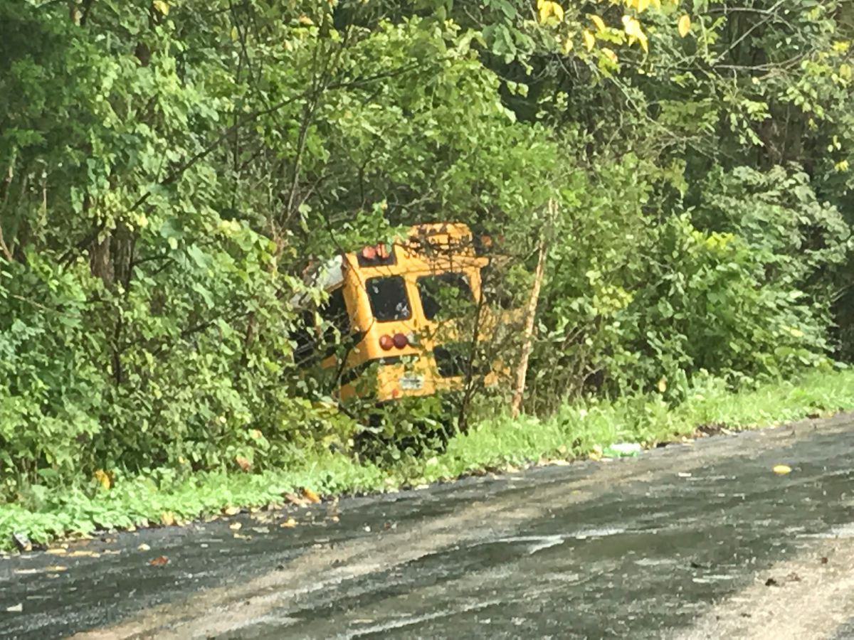 Multiple students suffer minor injuries in Harrison County bus crash