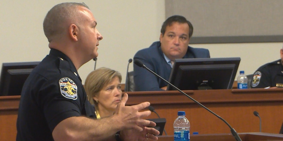Louisville public safety chief, LMPD officers testify in front of Metro Council regarding protest response