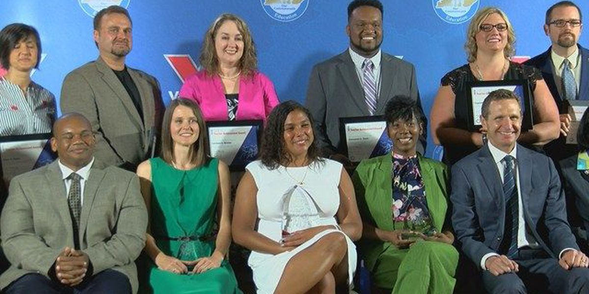 WAVE country educators named teacher of the year, elementary teacher of the year