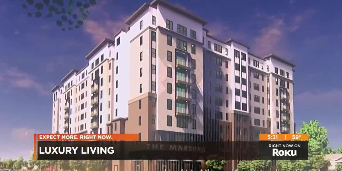 UofL luxury student apartment construction begins