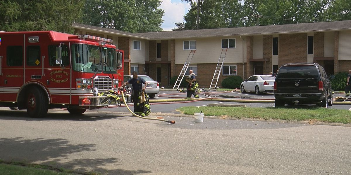 Red Cross helping families impacted by apartment fire in Jeffersonville