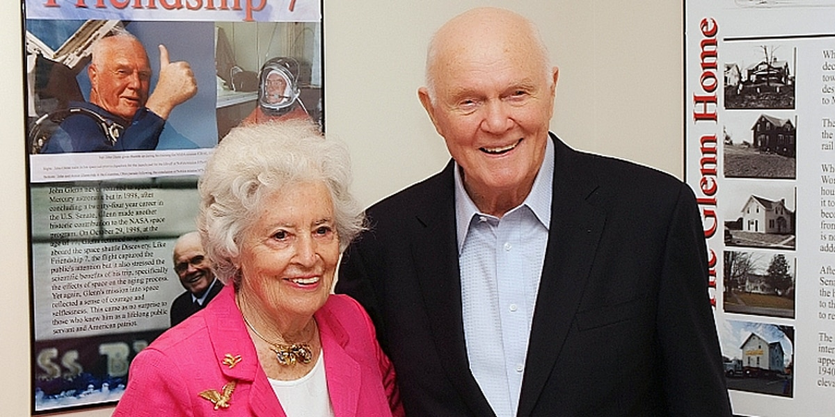 Annie Glenn, widow of astronaut John Glenn, turning 100