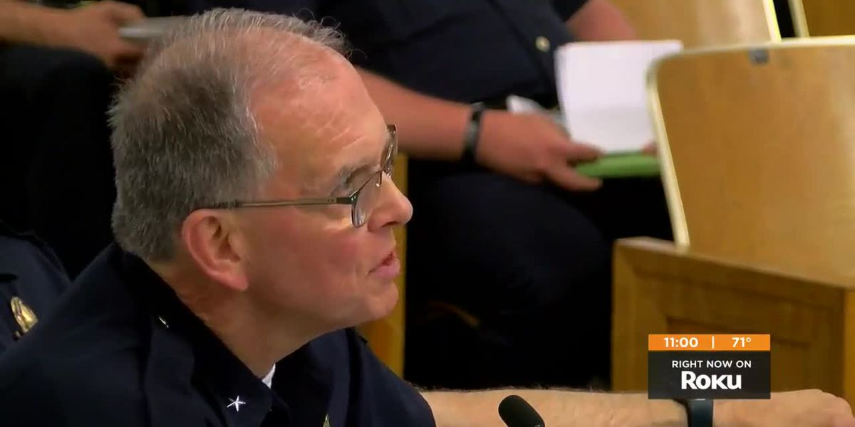 LMPD Chief on future of the department: 'We're going to end up doing less with less'