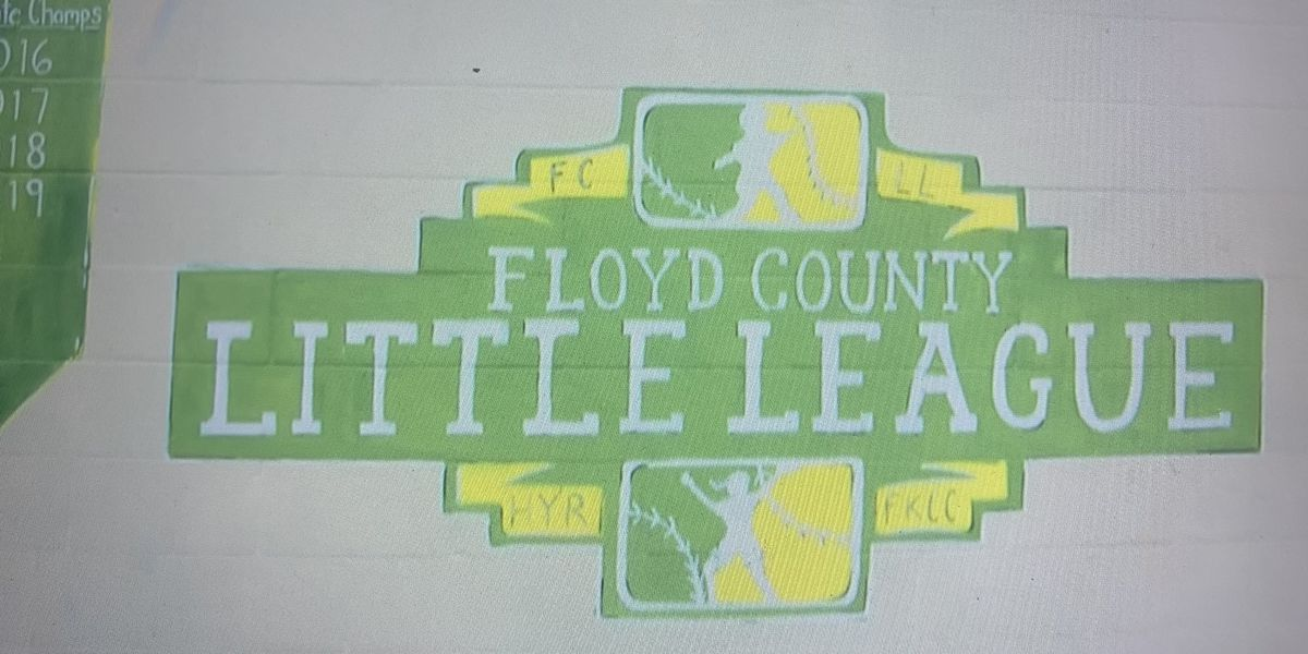 Floyd County Little League finds silver lining despite pandemic