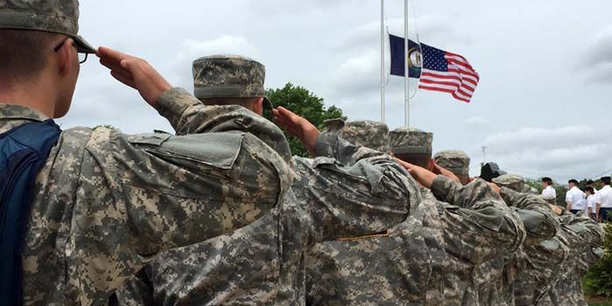 IMAGES: Ceremony at Kentucky National Guard Memorial