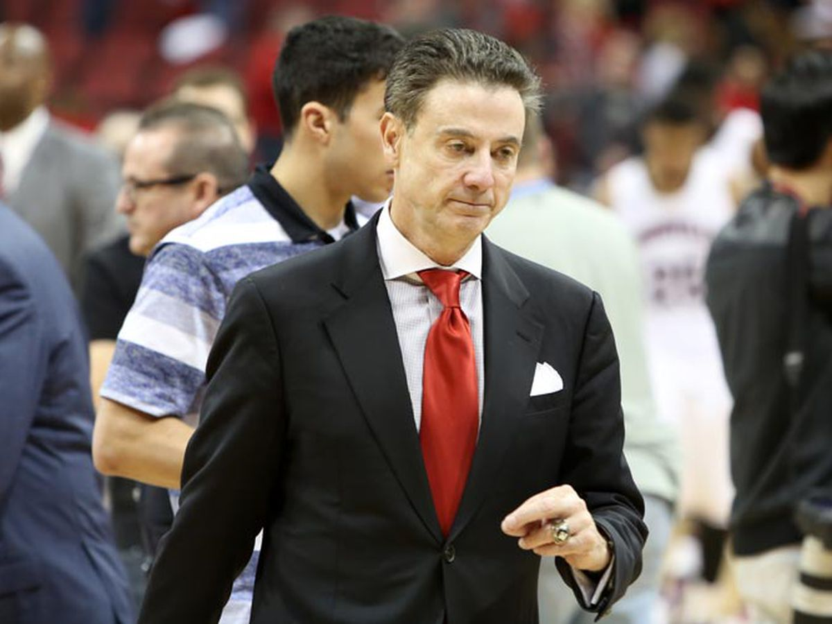 Rick Pitino has a Twitter account