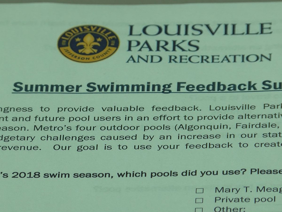 Parks and Recreation seeking other options in wake of pool closures