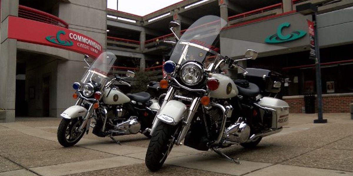 UofL Police bring motorcycle pilot program to campus