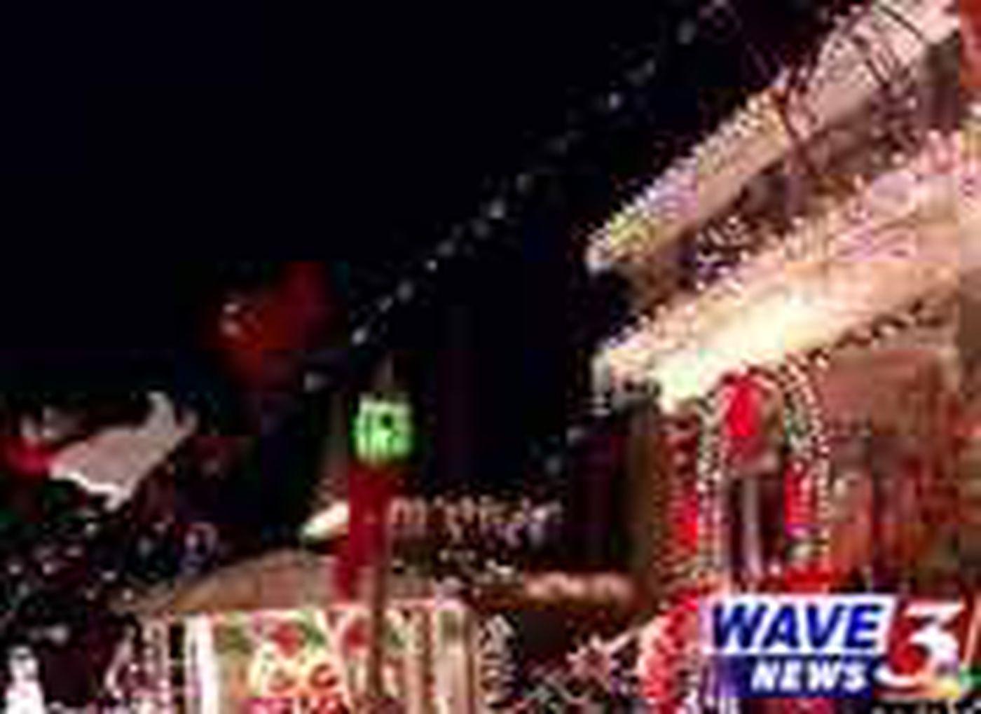 Residents Say Neighbor's Christmas Display Causing