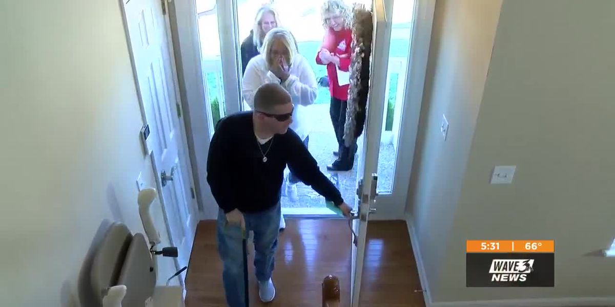 Army vet receives mortgage free home thanks to national organization