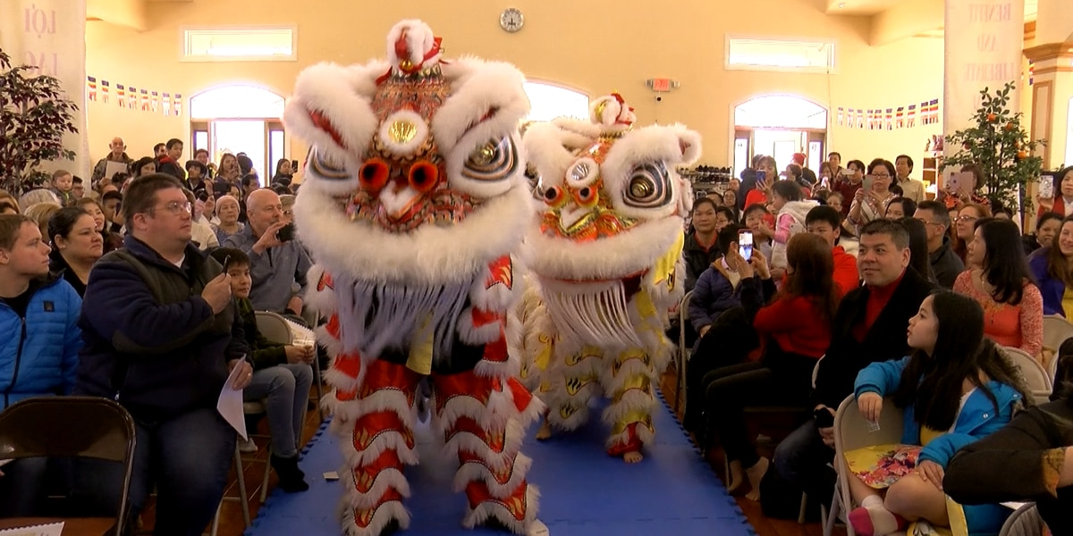 Lunar New Year celebrated at Louisville's Buddha Blessed Temple