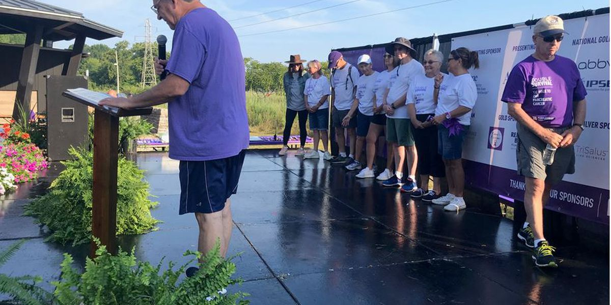 Louisville hosted walk to end pancreatic cancer