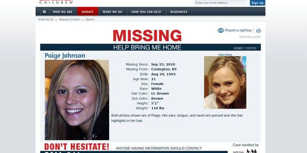 MISSING IN KENTUCKY: Have you seen these people?
