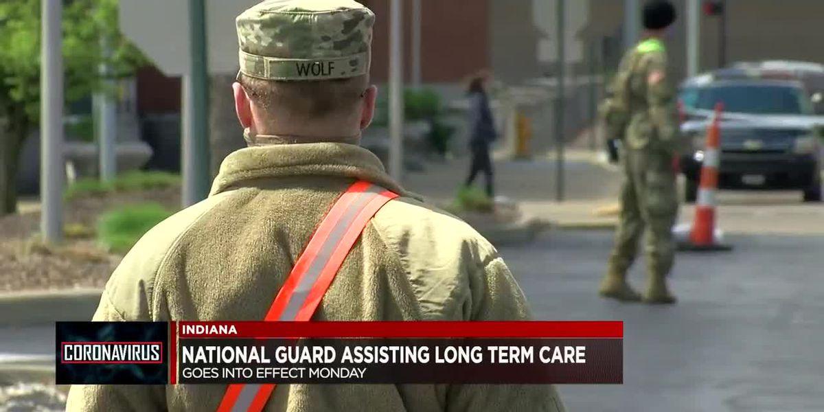 Indiana National Guard assisting long-term care facilities