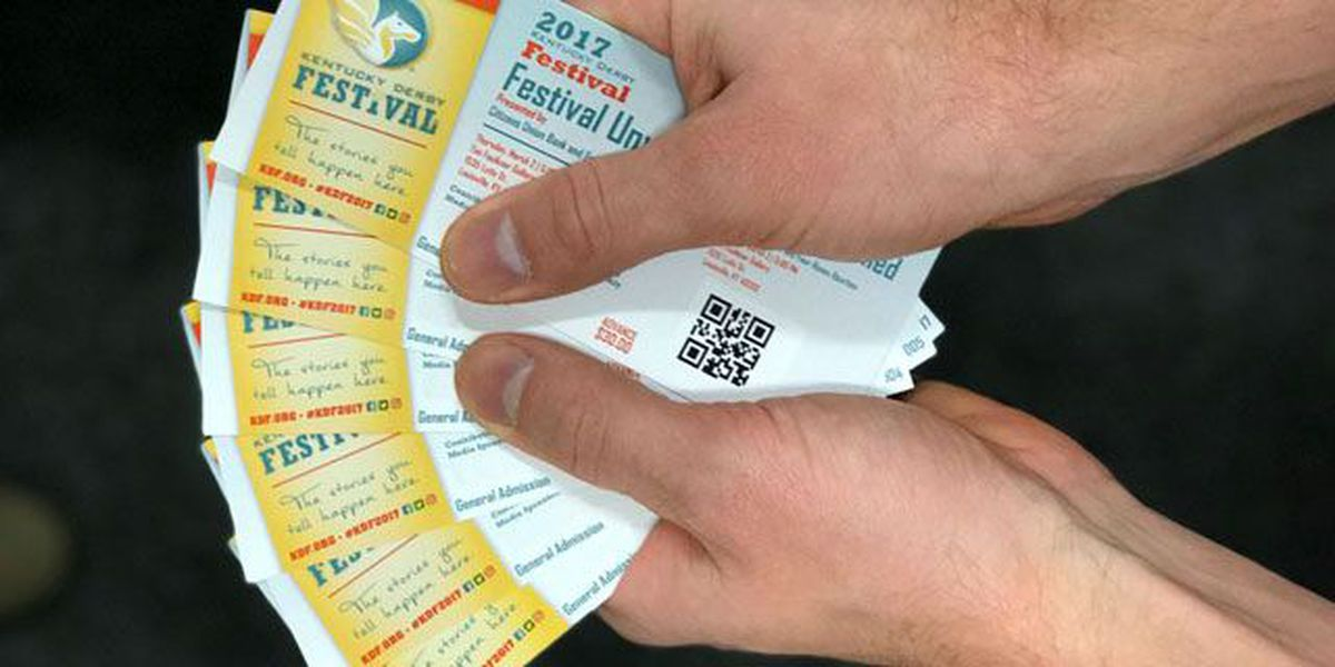 Tickets for all Kentucky Derby Festival events on sale Friday