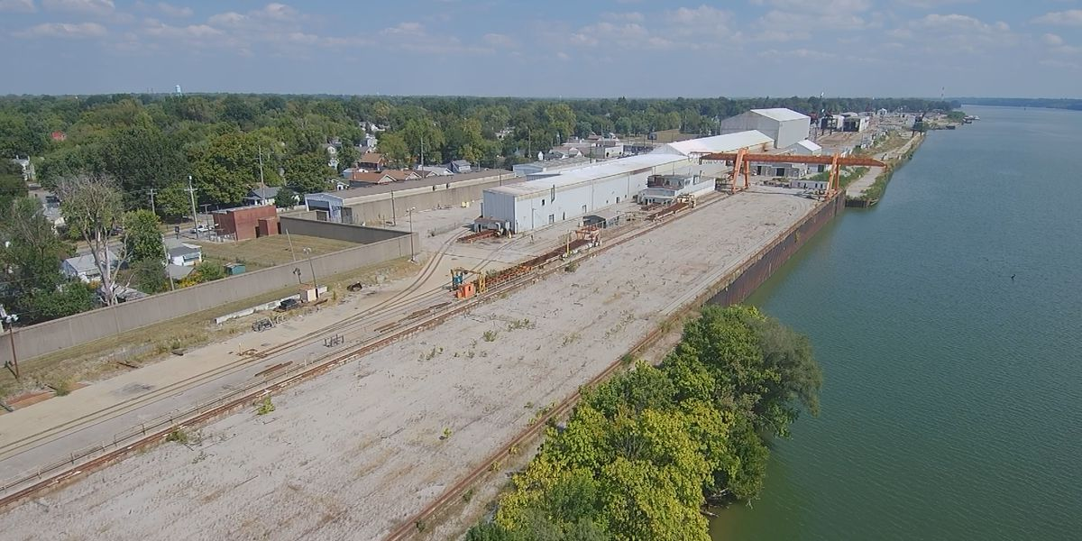 Former Jeffboat site auctioning off equipment, city looks to future for riverfront spot