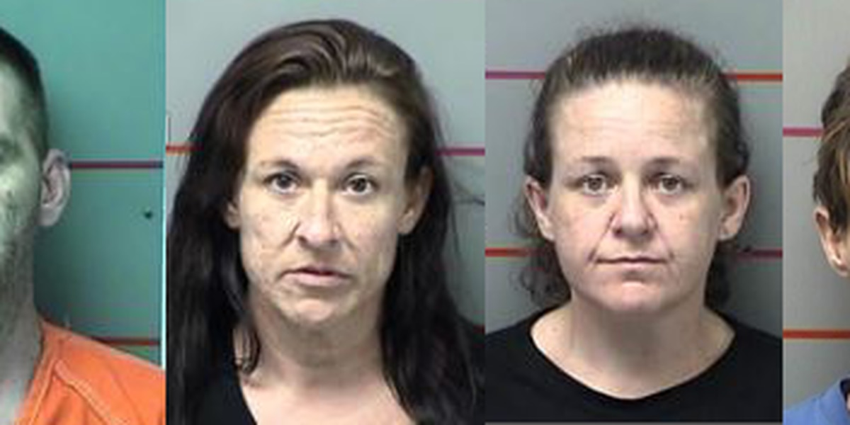 Grayson County search warrant nets 5 arrests, over 11 grams of methamphetamine