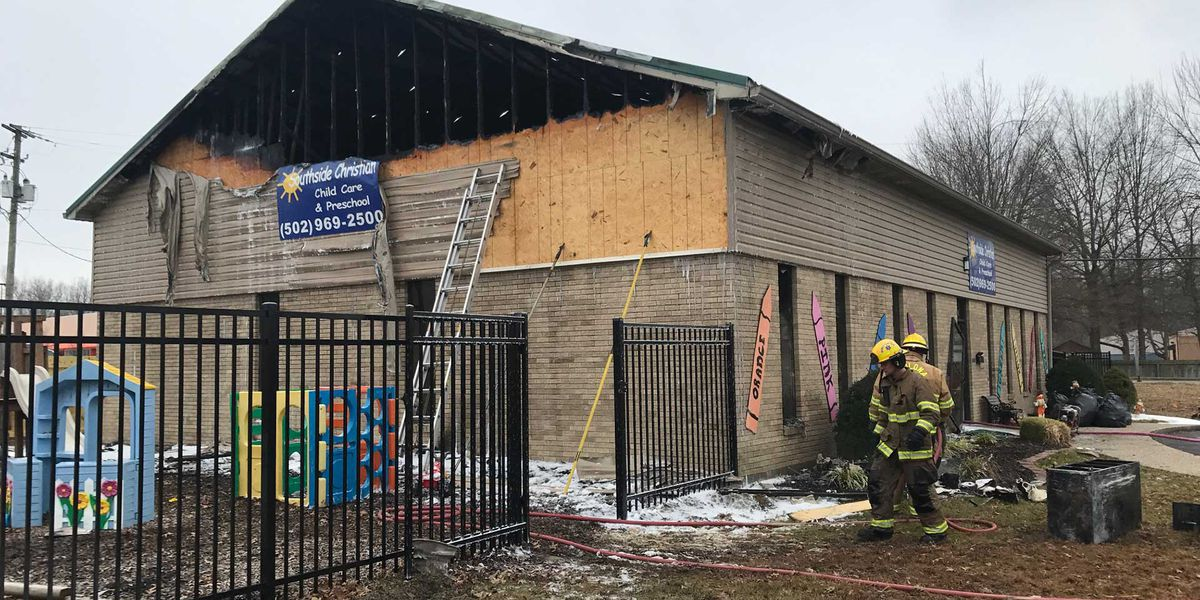 Fire at Okolona daycare extinguished, no injuries reported