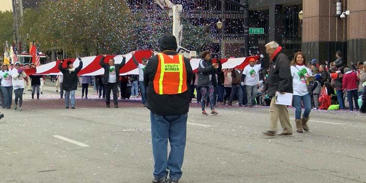 Louisville Veterans Day Parade: 'We love you'