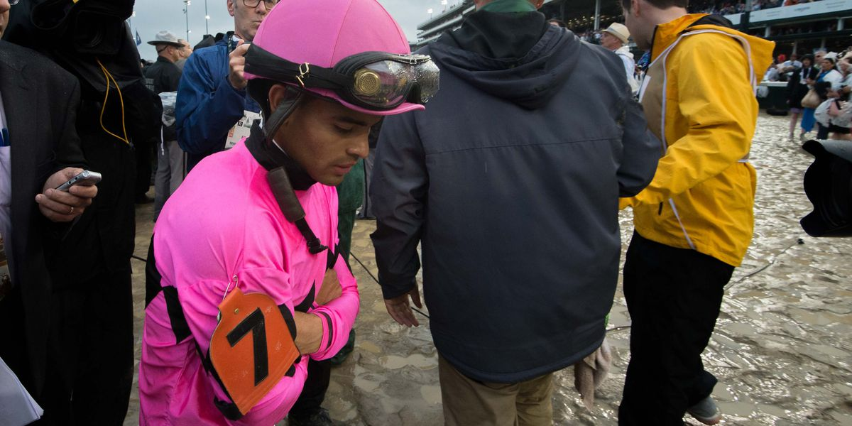 Maximum Security out of Preakness