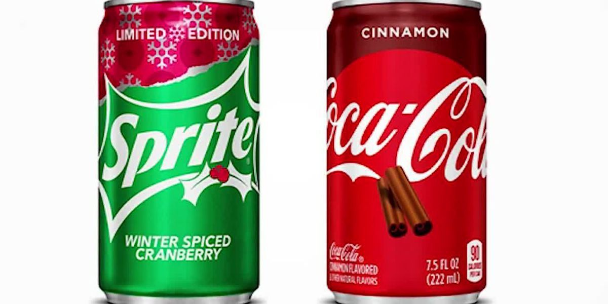 Coke's out with 2 new holiday sodas