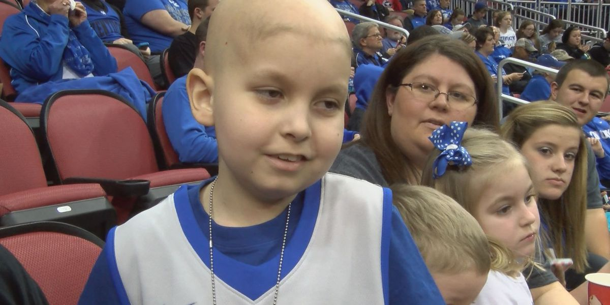 Wish granted: UK fans send boy fighting cancer to Final Four