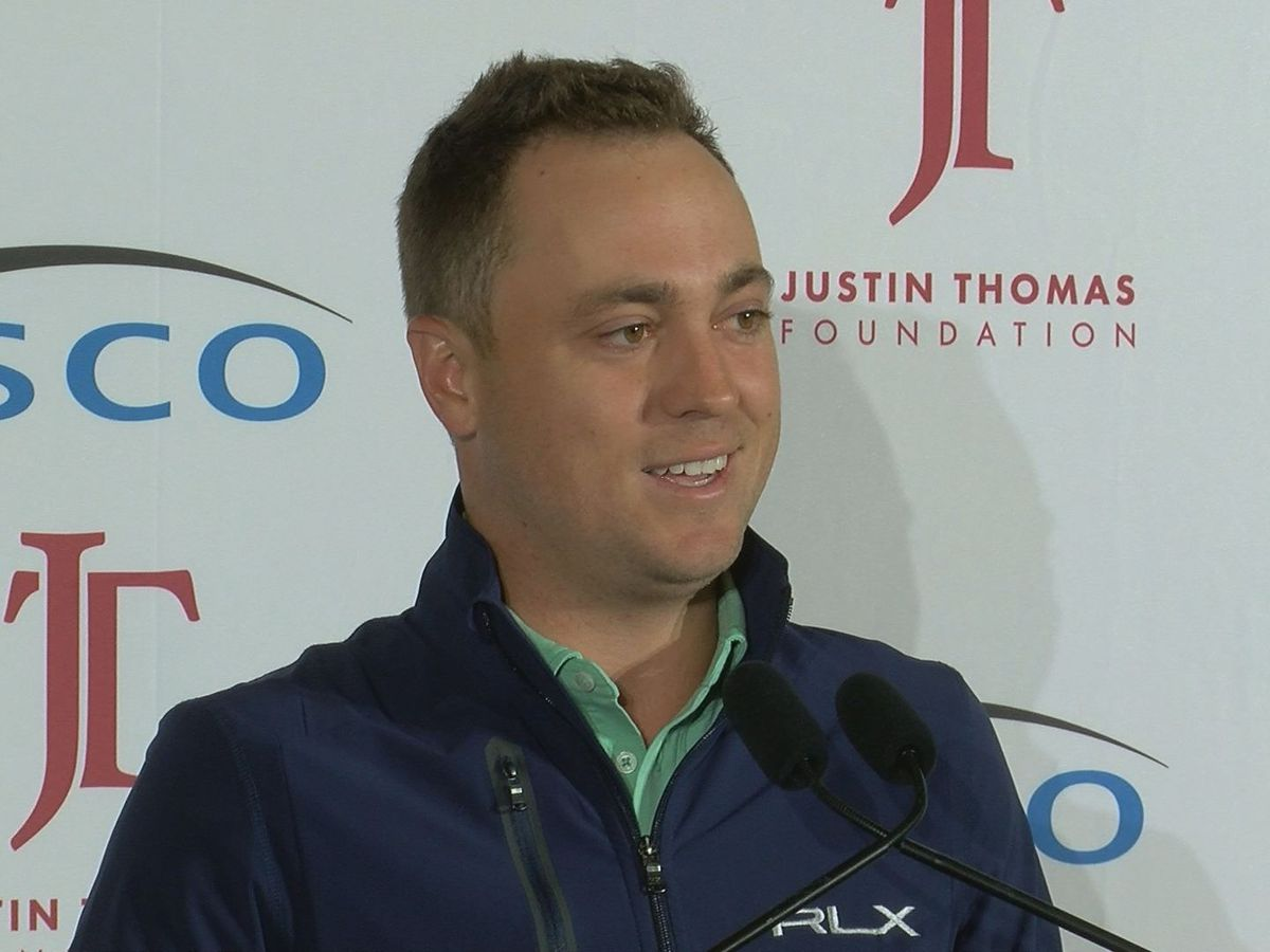 St X grad Justin Thomas tied for lead at BMW Championship
