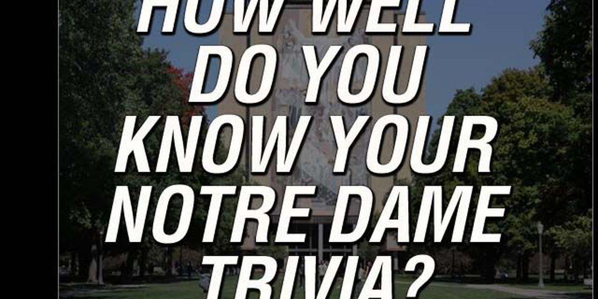 QUIZ: Notre Dame Football Trivia