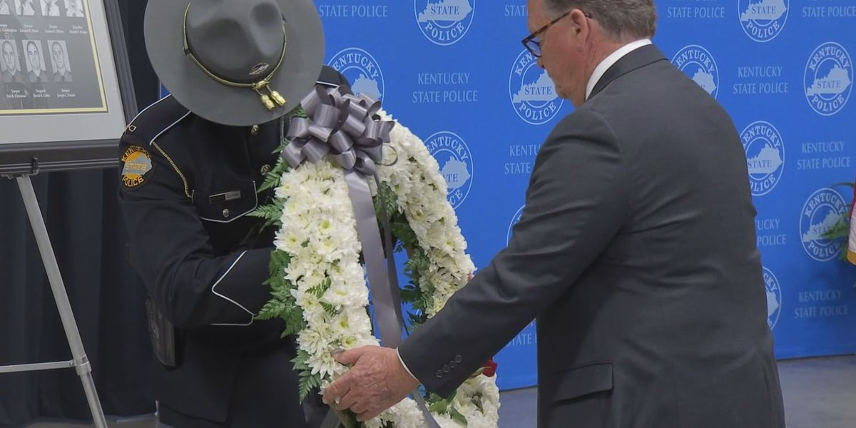 Kentucky officers who died in the line of duty honored in Frankfort