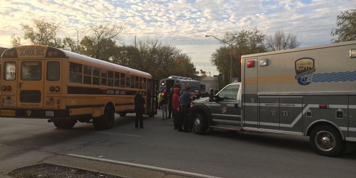 JCPS bus involved in injury crash