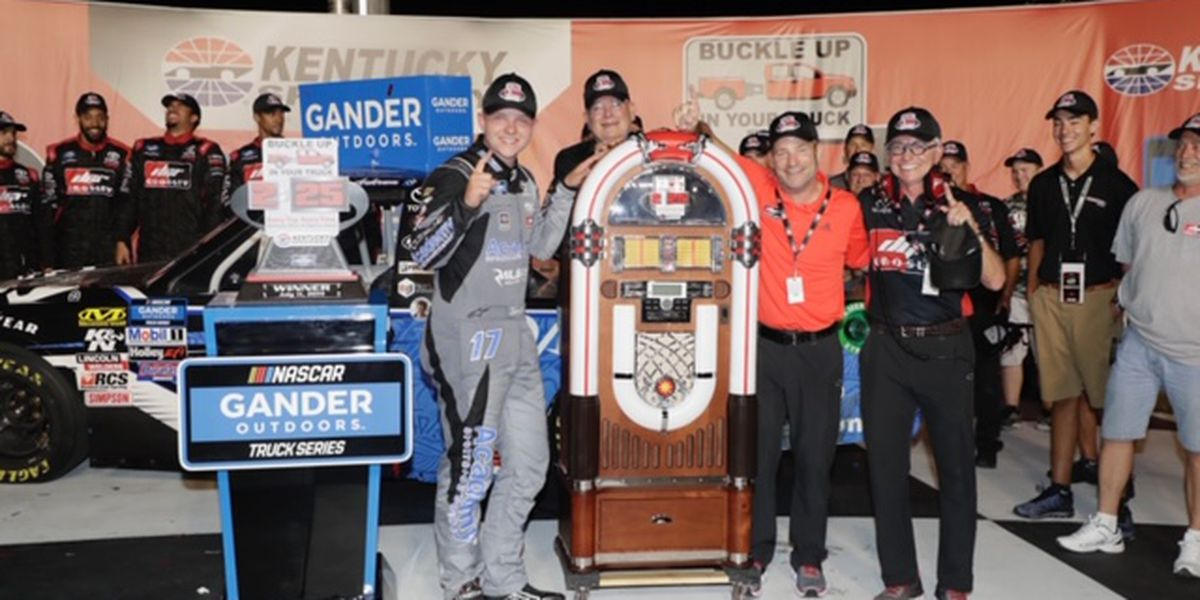 18 Year Old Ankrum Wins at Kentucky Speedway