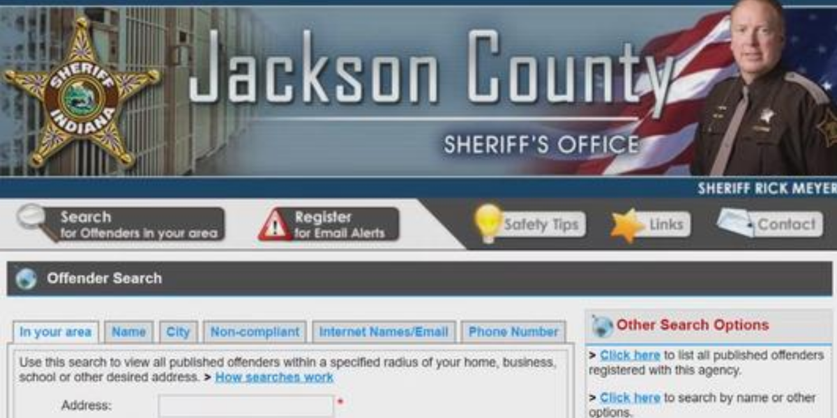 Jackson County sex offenders to be required to pay registration fee