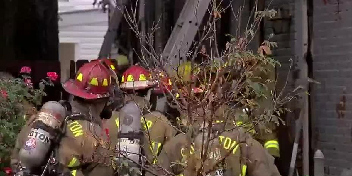 Video shows family escape Newport house fire, now left with nothing