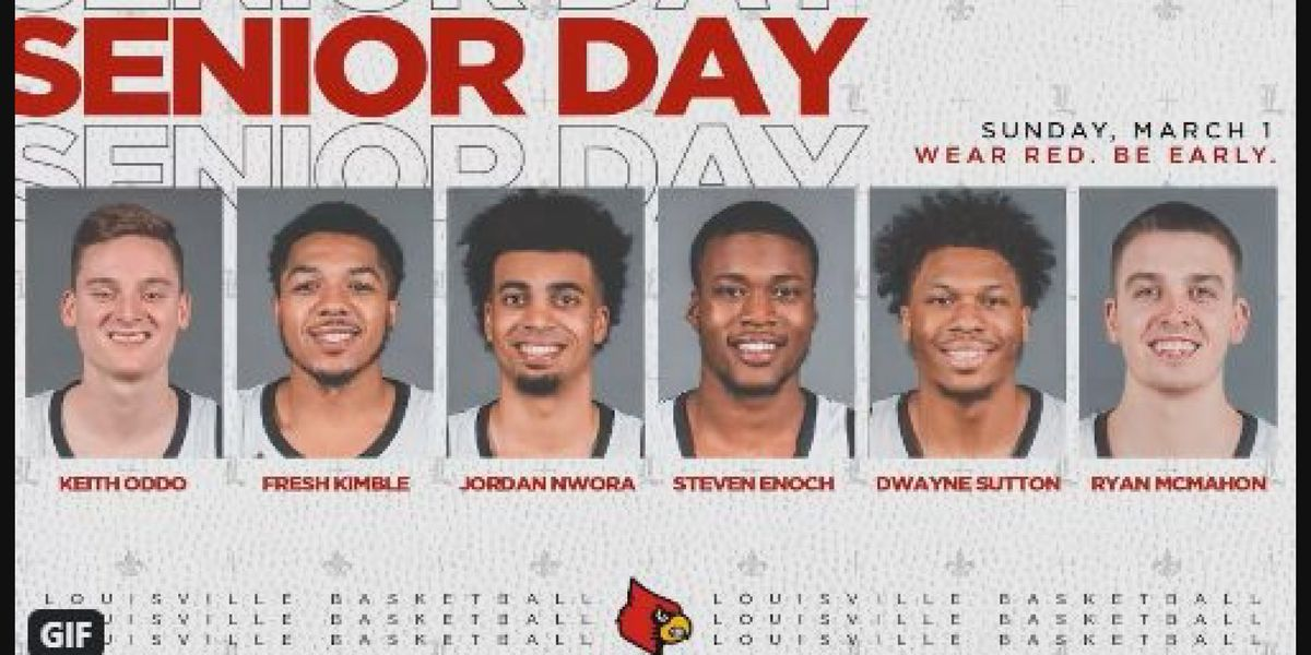 "Nwora to be honored during ""Senior Night"" festivities at UofL on Sunday"