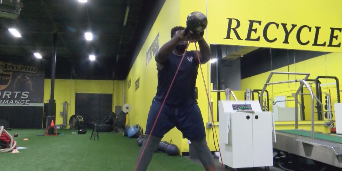 Corey Taylor Sports Performance is helping area NFL players stay in shape