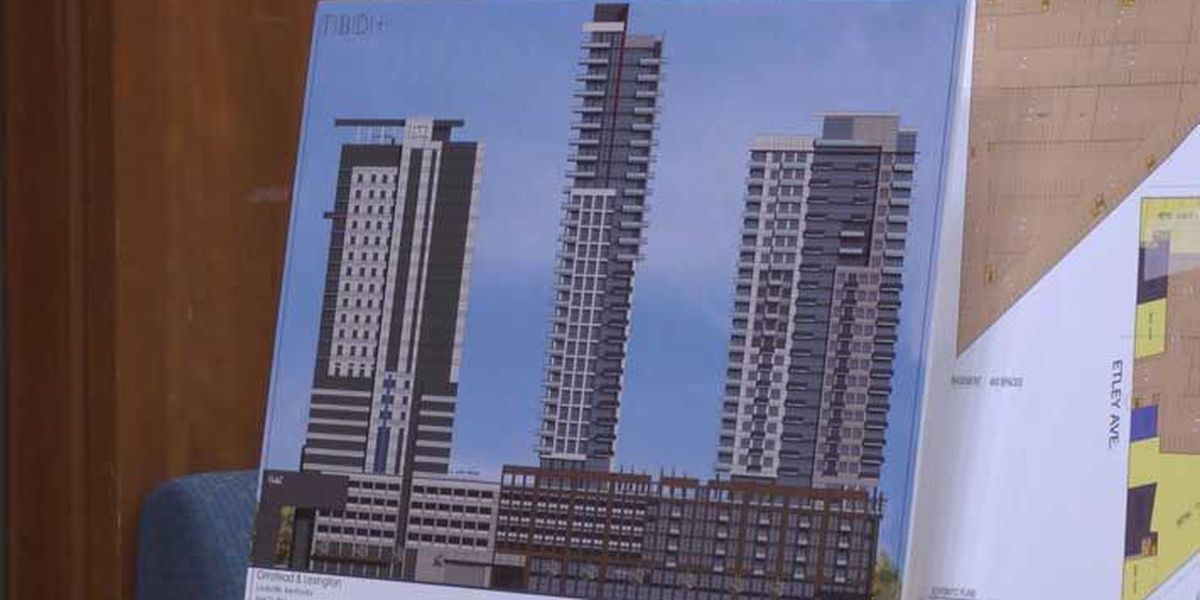 Neighbors voice concern over proposed skyscrapers