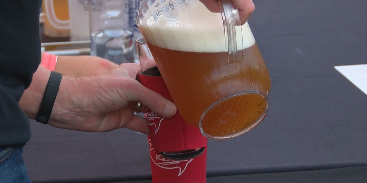 Brewfest takes over baseball stadium