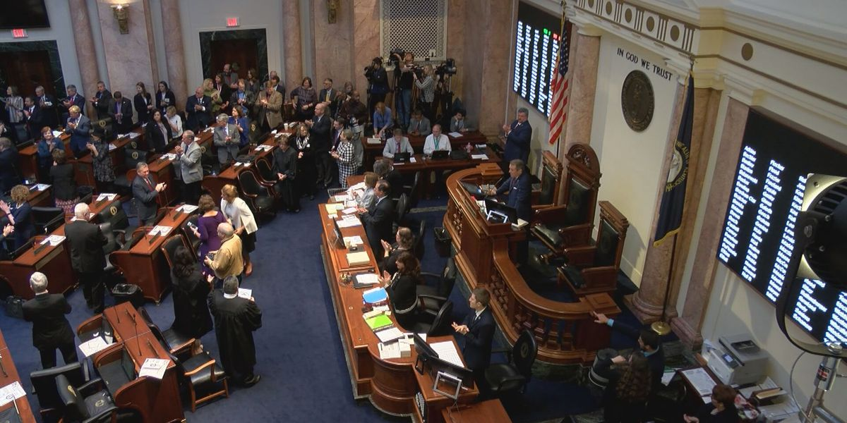 On first day, big issues arise for 2019 KY legislators