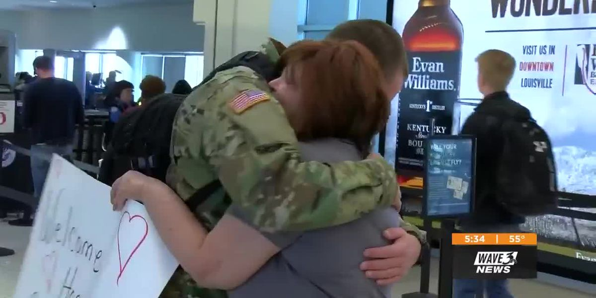 Cancer patient, former Pass the Cash recipient greets son in emotional welcome home