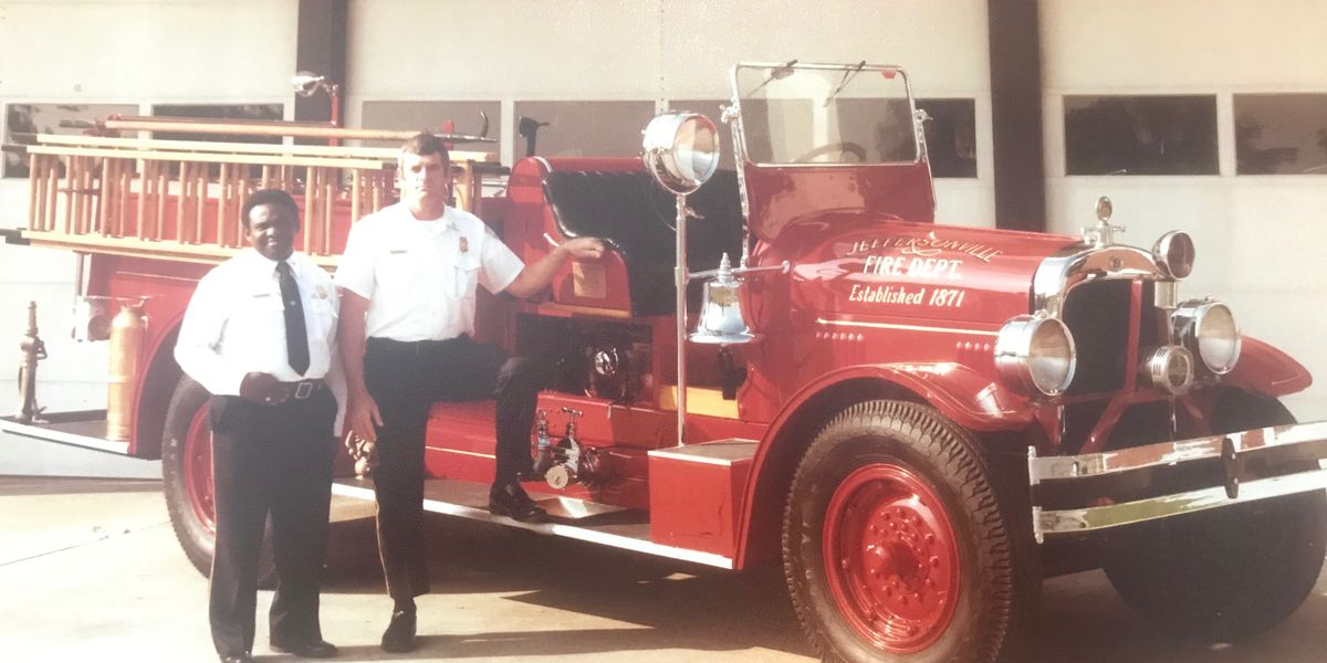 Family, firefighters remember Jeffersonville's first African-American fire chief