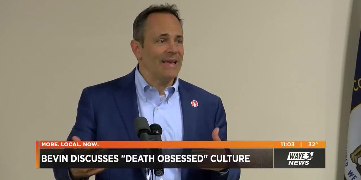 Bevin cites 'zombies' and 'death-obsessed' culture on radio show