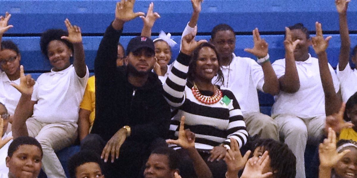 Bryson Tiller spreads the 502 Come Up love with Louisville students
