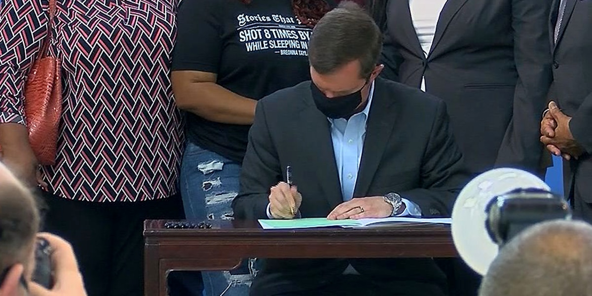 Three Kentucky bills signed into law impact racial equity, equality