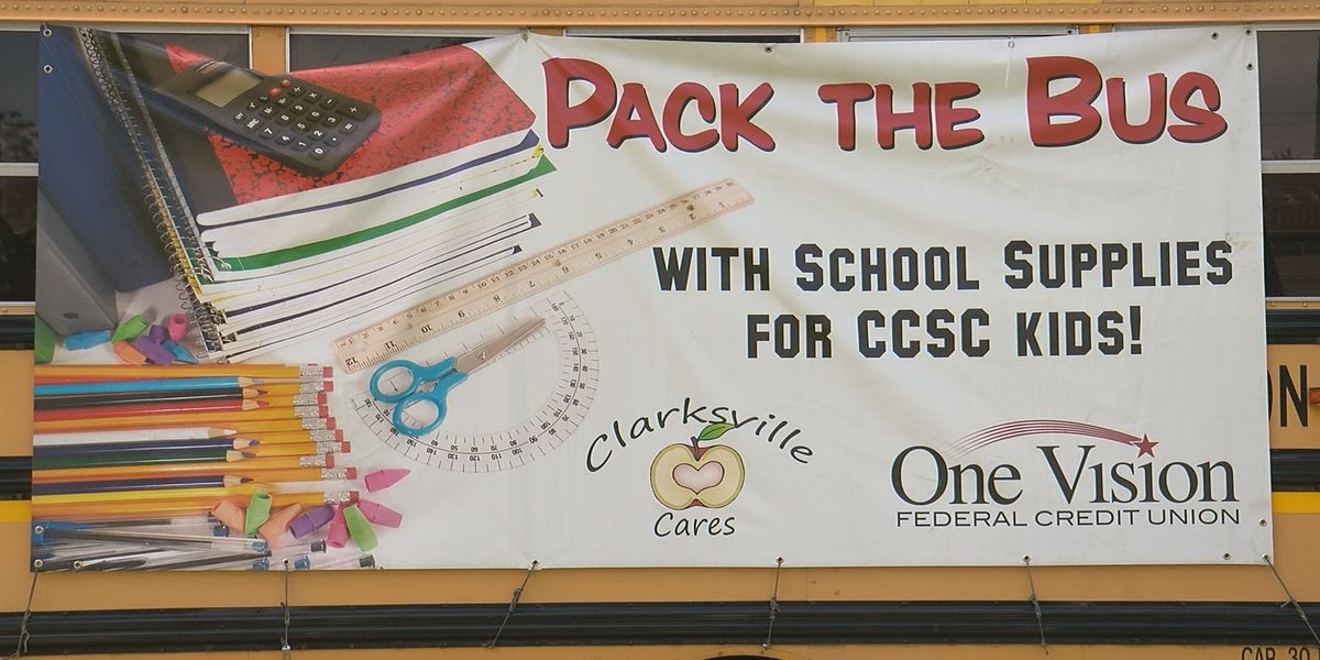 Pack the Bus helps bring school supplies to students