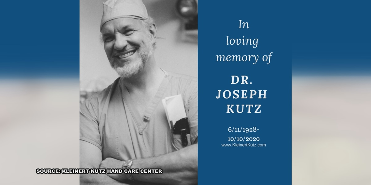 Patients, colleagues reflect on life of renowned Louisville surgeon Dr. Joseph Kutz