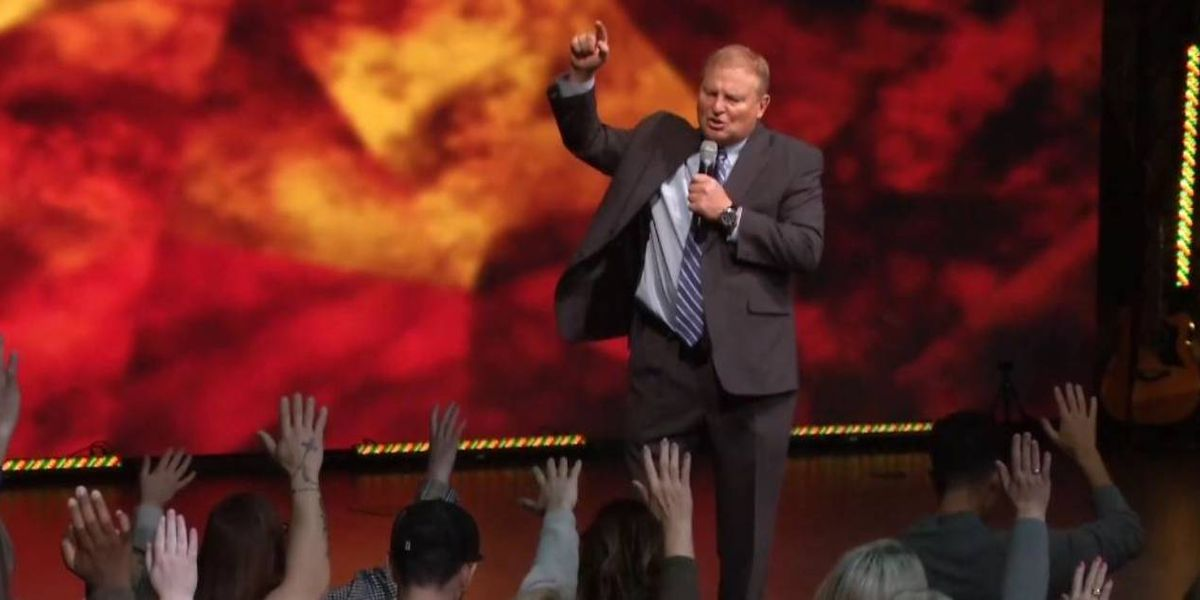 Louisville pastor calls for curse on people he says 'stole the election'