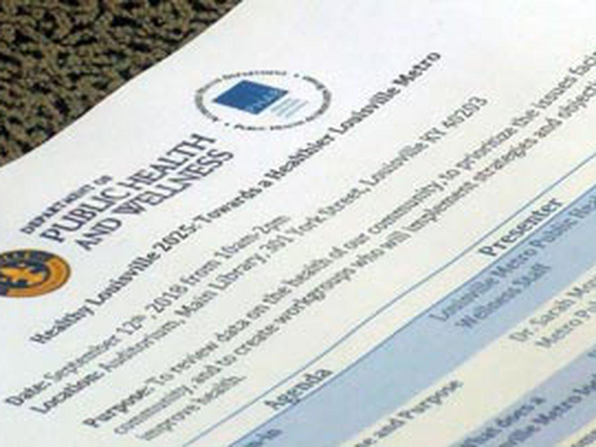 Louisville kicks off community health improvement plan